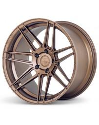 Ferrada F8-FR6 Matte Bronze 20x10 Bolt : 5x4.75 Offset : +25 Hub Size : 74.1 Backspace : 6.48