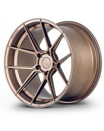 Ferrada F8-FR8 Matte Bronze 20x11 Bolt : 5x112 Offset : +50 Hub Size : 66.6 Backspace : 7.97