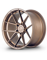 Ferrada F8-FR8 Matte Bronze 20x9 Bolt : 5x4.5 Offset : +35 Hub Size : 73.1 Backspace : 6.38