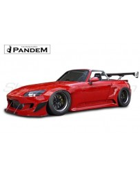 Honda S2000 (AP1/AP2) Rocket Bunny Pandem Complete Widebody Aero Kit with Duck-tail wing only, NO GT Wing
