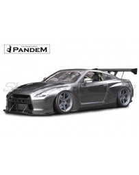 Nissan GT-R (R35) Pandem Full Widebody Aero Kit without Wings (FRP)