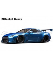 Nissan GT-R (R35) Rocket Bunny V2 Complete Widebody Aero Kit with GT Wing (FRP)