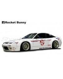 Nissan 240SX / 180SX (RPS13) Rocket Bunny V1 Aero Kit (Front Bumper, Side Skirts, Rear Bumper)