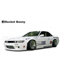 Nissan Silvia (PS13) Rocket Bunny V1 Aero Kit (Front Bumper, Side Skirts, Rear Bumper)