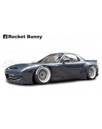 Mazda RX7 (FD3S) Rocket Bunny V2 Complete Widebody Aero Kit with Wing
