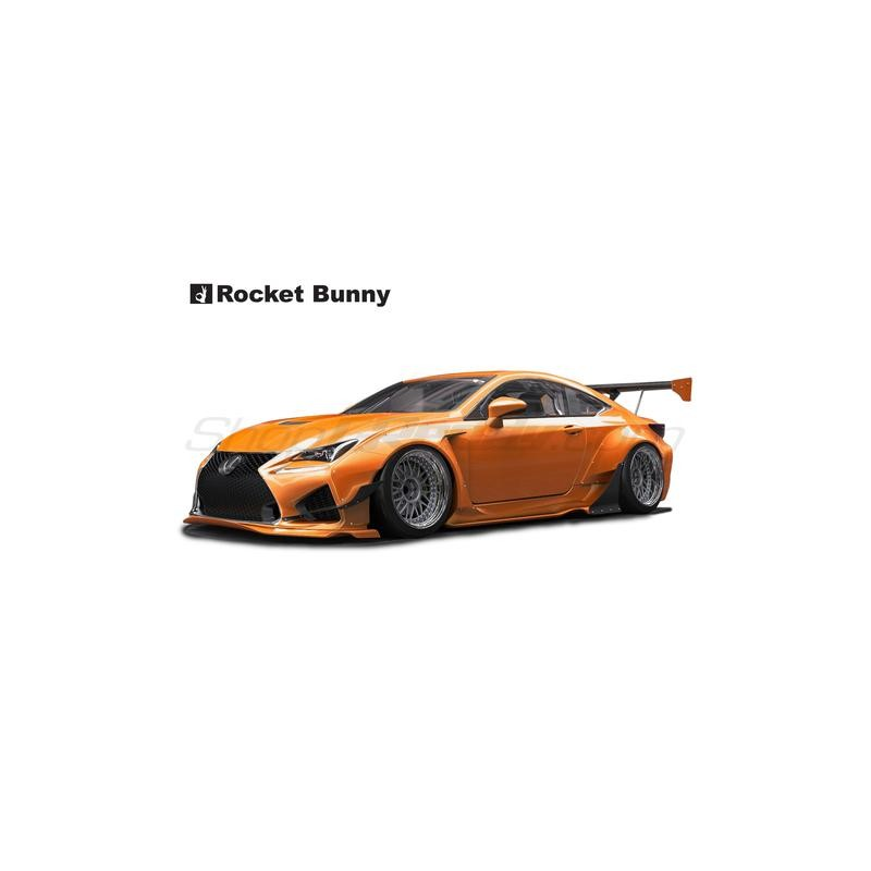 Lexus RCF Rocket Bunny Complete Widebody Aero Kit with GT Wing