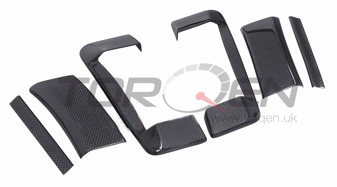 350z Evo R Carbon Fiber Door Handle Cover Set Torqen