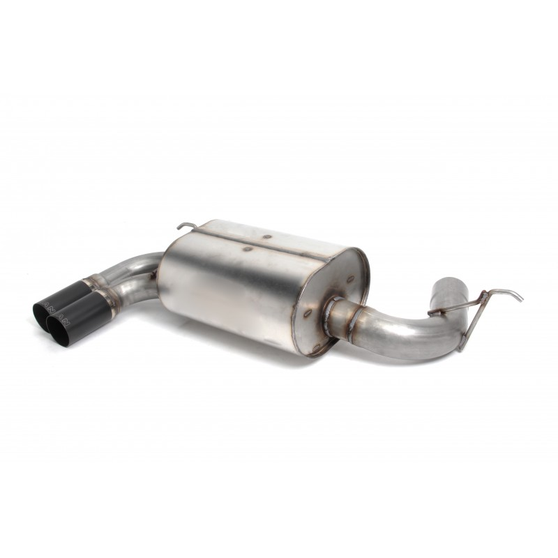Dinan Free Flow Stainless Exhaust With Black Tips For BMW