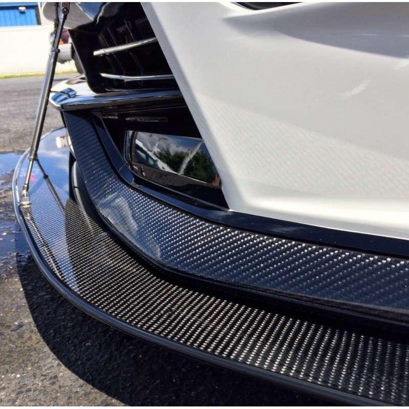 370z Fly1 Motorsports 2015+ NISMO Carbon Fiber Front Bumper Trim Pieces