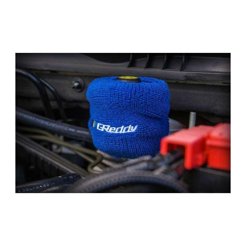 Greddy Reservoir Cover Fill Tank Cover for Brake Power Steering Blue
