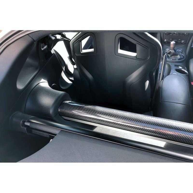 370z Evo-R Carbon Fiber Rear Strut Bar Cover