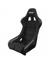 BRAUM FALCON SERIES FIA APPROVED FIXED BACK RACING SEAT (BLACK CLOTH)