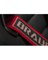 BRAUM 5 PT – SFI 16.1 RACING HARNESS (RED)