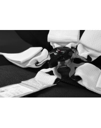 BRAUM 5 PT – SFI 16.1 RACING HARNESS (WHITE)