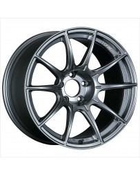 SSR GTX01 DARK SILVER WHEEL 18X7.5 5X100 48MM