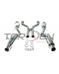 "370z AAM Competition 3"" True Dual Exhaust System"