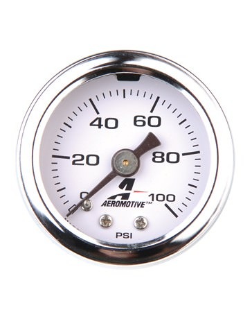 R35 Gt R Aeromotive 0 100 Psi Fuel Pressure Gauge
