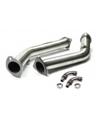 ISR Performance Test Pipes - Nissan 350z 03+