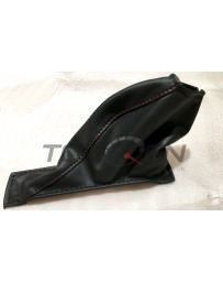 Nissan GT-R R35 Nissan OEM Red Stitched E-Brake Handle Boot, 2015+ Nismo Model