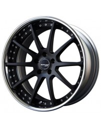 SSR Executor CV01 20x10.5 +50 NR (Normal Disk) 5/114.3 Super Black Coat