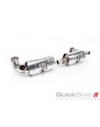 QuickSilver Exhausts Porsche 911 Turbo (997 Gen. 1) Sport Exhaust with Race Catalysts (2006-09)