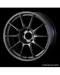 WedsSport TC-105X 18x11 5x114.3 ET15 Wheel- Titanium
