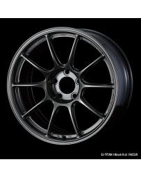 WedsSport TC-105X 18x9.5 5x114.3 ET35 Wheel- Titanium