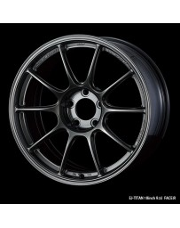 WedsSport TC-105X 18x9 5x114.3 ET45 Wheel- Titanium