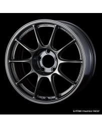 WedsSport TC-105X 17x8.5 5x114.3 ET32 Wheel- Titanium