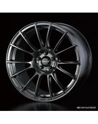 WedsSport SA-72R 18x9.5 5x114.3 ET38 Wheel- Hyper Black