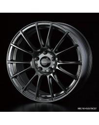 WedsSport SA-72R 18x7.5 5x114.3 ET45 Wheel- Hyper Black