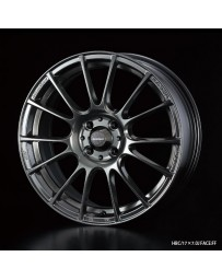 WedsSport SA-72R 17x7.5 5x100 ET48 Wheel- Blue Light Chrome Black