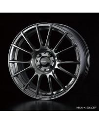WedsSport SA-72R 16x5 4x100 ET45 Wheel- Hyper Black