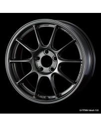 WedsSport TC-105X 16x7 4x100 ET43 Wheel- Titanium
