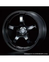 WedsSport RN-05M 19x9.5 5x114.3 ET38 Wheel- Gloss Black