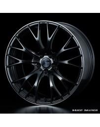 WedsSport SA-20R 19x8.5 5X114.3 ET38 Wheel- M-Black