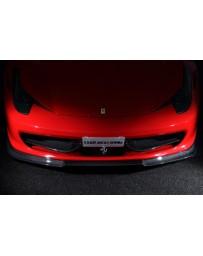 LeapDesign Ferrari 458 Italia - Carbon Front Duct Wing