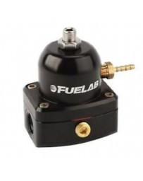 Nissan GT-R R35 Fuelab Universal Black EFI Adjustable Fuel Pressure Regulator