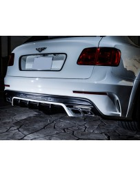 LeapDesign Bentley Bentayga - FRP Rear Bumper (with muffler cutter)