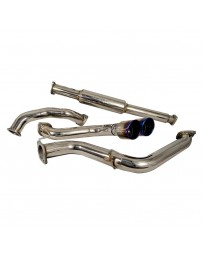 Focus ST 2013+ Injen Stainless Steel Cat-Back Exhaust System with Dual Rear Exit