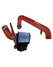 Focus ST 2013+ Injen SP Series Wrinkle Red Short Ram Air Intake System with Blue Filter