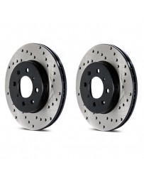 Toyota GT86 StopTech Cryo Discs - Front pair - DRILLED