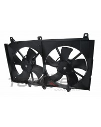 350z DE Nissan OEM Complete Radiator Fan Shroud with Motors and Fan Blades