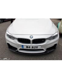 4 Second Racing Club BMW F80 M3, F82 F83 M4 M Performance Style Carbon Front Splitter
