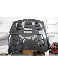 4 Second Racing Club Nissan GT R35 Full Carbon Fast Radiating Bonnet