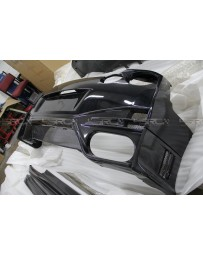 4 Second Racing Club Nismo style rear bumper with full carbon rear valance