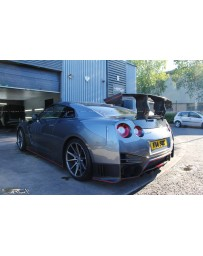 4 Second Racing Club Nissan GT-R35 N Attack Style Dry Carbon Rear Spoiler Wing