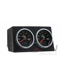 370z ATI 60mm Dual Gauge Cluster 09+ without Navigation