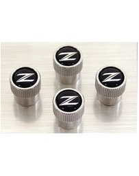 370z Nissan OEM Tire Valve Stem Caps ( 4-piece Set)