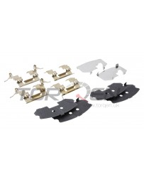 350z DE Nissan OEM Front Brake Pad Shim & Hardware Kit with Standard Non-Sport Calipers Front